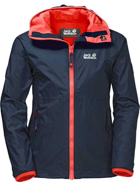Jack Wolfskin Rainy Days Jacket Girls midnight blue